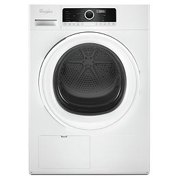 4.3 cu. ft. Front Load Electric Dryer in White,