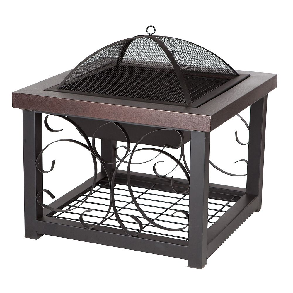 Paramount 27-inch Fire Pit Coffee Table