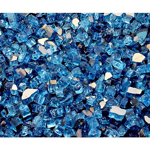 Carton de verre réflecteur de 40 lb en Catalina Bleu Catalina lumineux