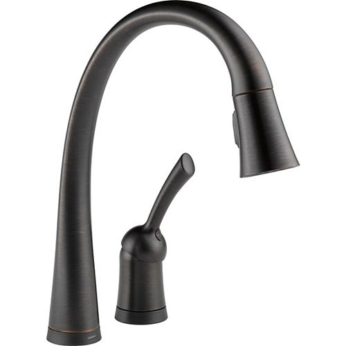 Single Handle Pull-Down Kitchen Faucet with Touch2O(R) Technology, Venetian Bronze