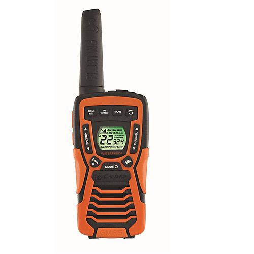 Talkie-walkie flottant ACXT1035R, 60 km, ensemble de 2