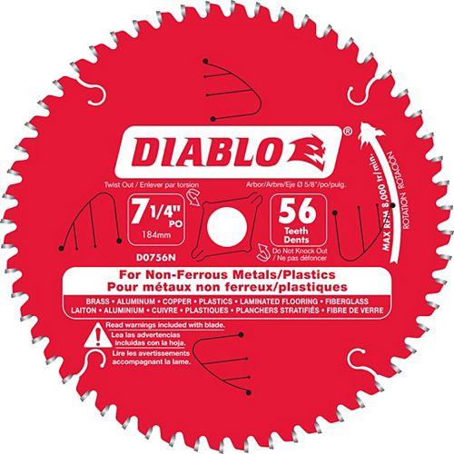 Diablo Non-Ferrous Blade 7-1/4 x 56 T