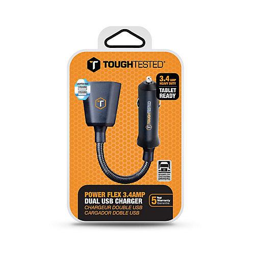 PowerFlex 3.4 Amp Chargeur Double USB