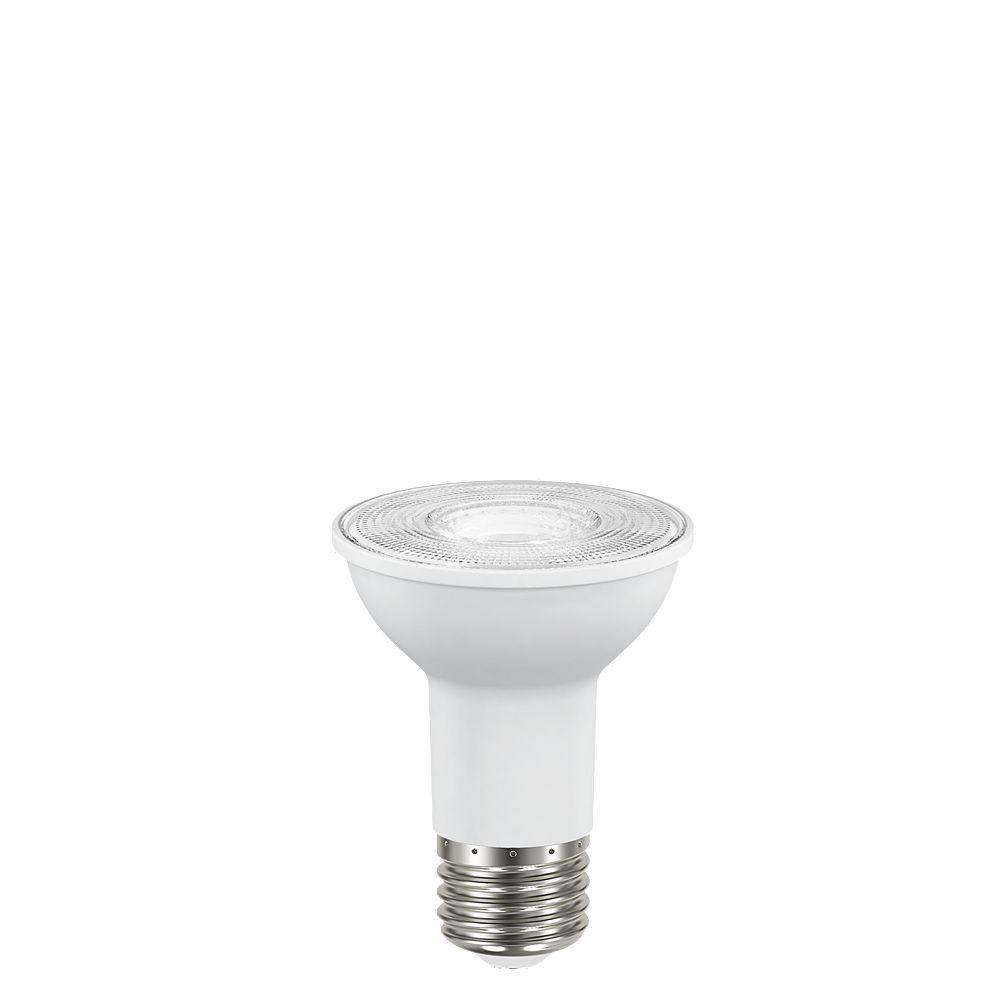 Ecosmart Ampoule DEL à int. var. PAR20 ENERGY STAR, équival. de 50 W, 5 000 K, lumière naturelle, ens. de 3