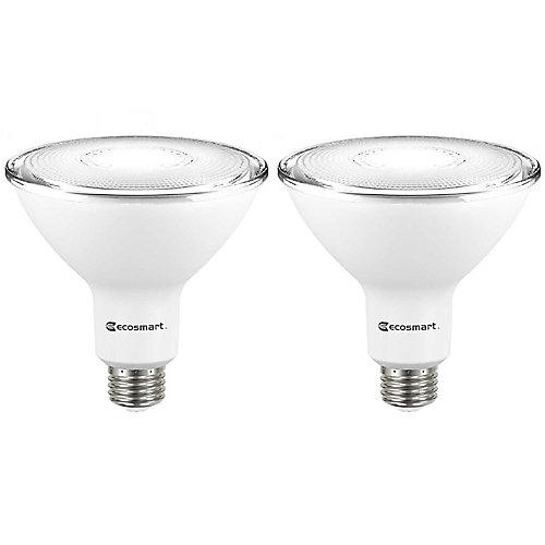 90W Equivalent Bright White (3000K) PAR38 Dimmable LED Light Bulb (2-Pack) - ENERGY STAR