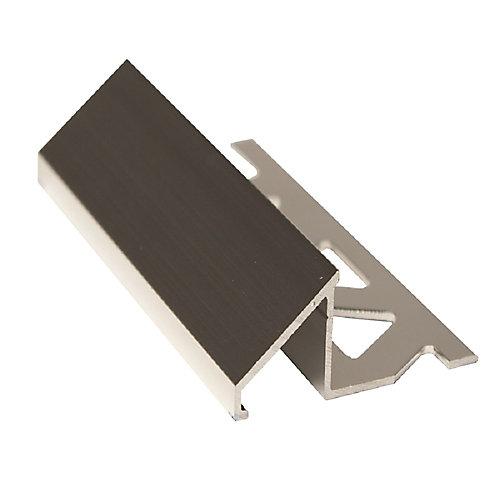 Réducteur pour carreaux, 1/2 po (12 mm), 8 pi, transparent brillant