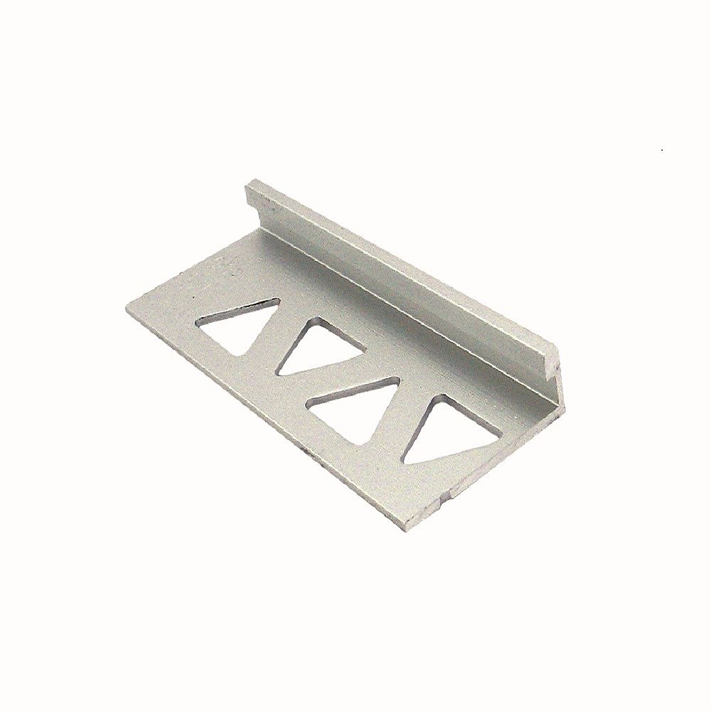 PROVA Bordure pour carreaux, 1/4 po (6 mm), 8 pi, titane satiné