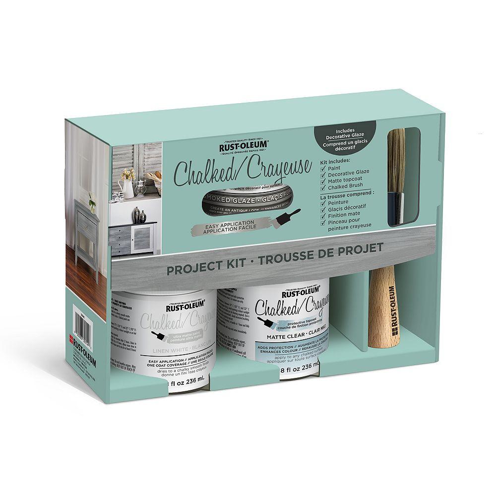 Rust-Oleum Chalked Decorative Glaze Project Kit