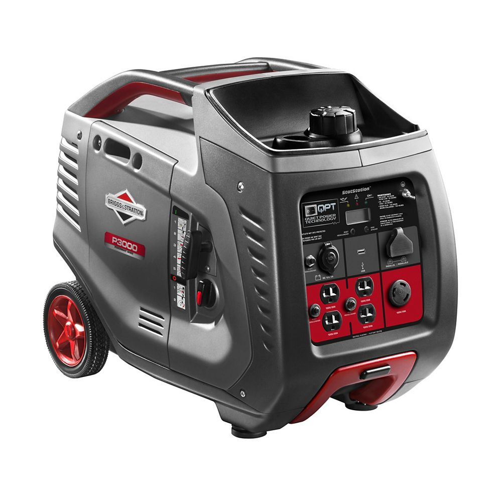 Briggs & Stratton PowerSmart Series 3,000W Gasoline Powered Portable Inverter Generator