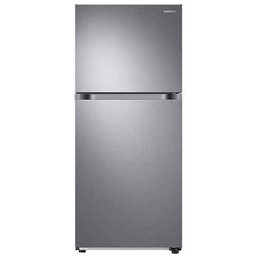 29-inch W 17.6 cu.ft Top Freezer Refrigerator in Stainless Steel, Standard Depth - ENERGY STAR®