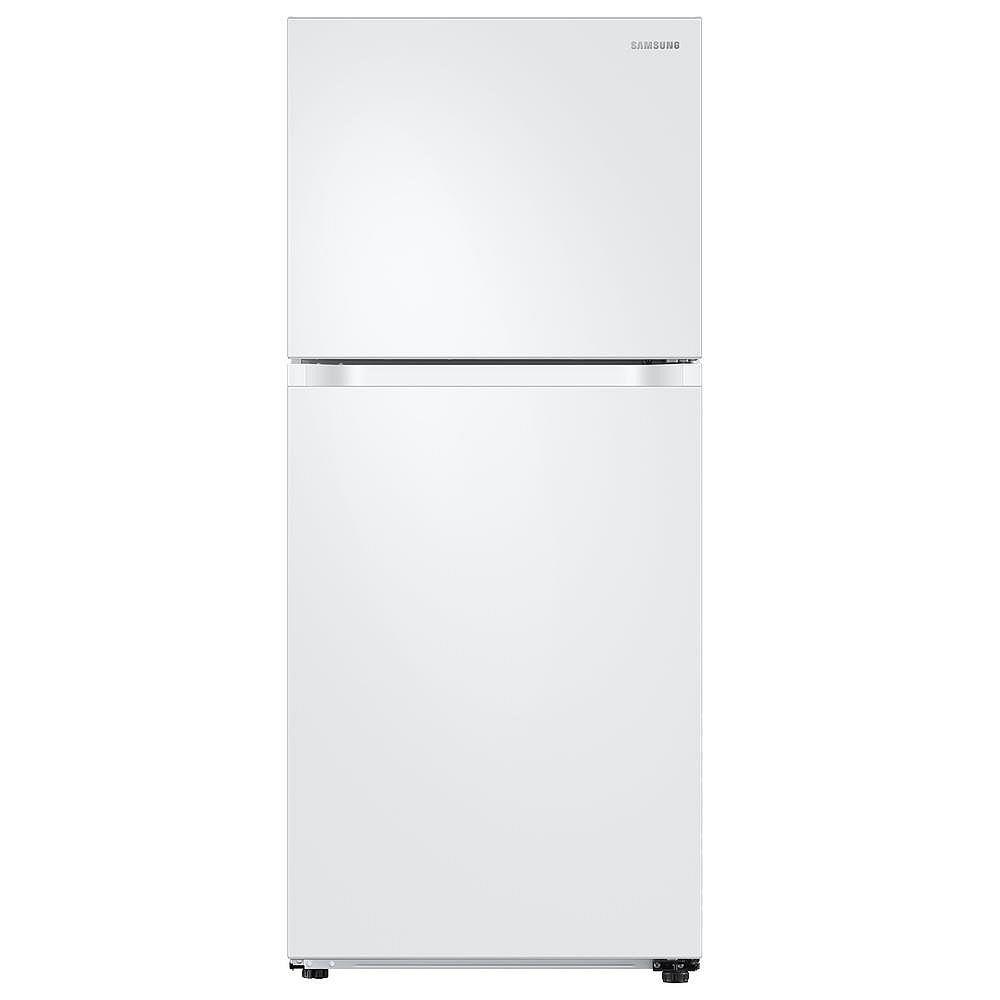 Samsung 29-inch W 17.6 cu. ft. Top Freezer Refrigerator in White, Standard Depth - ENERGY STAR®
