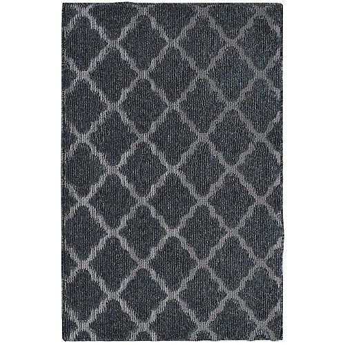 Natural Grayson 2 ft. x 4 ft.  Rectangular Accent Mat