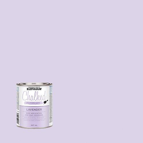 Peinture craie ultra-mate à la lavande, 887 mL