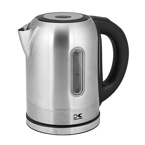 Stainless Steel Digital Kettle with Color Changing LED Lights