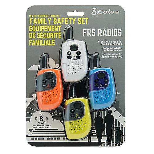 Talkie-walkie familial, ensemble de 4