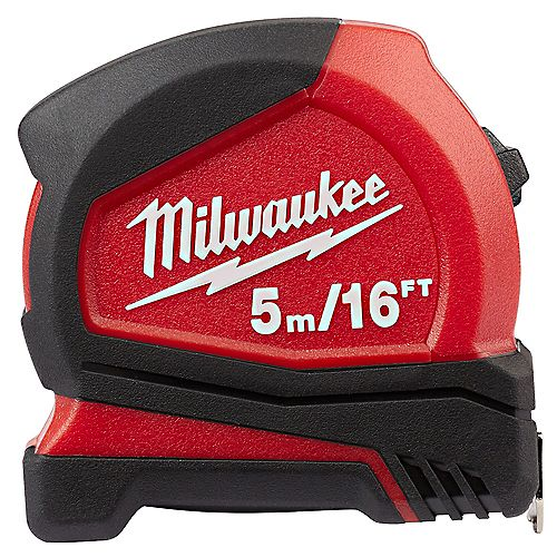 Milwaukee Tool 5m/16 ft. Tape Measure with 12 ft. Reach