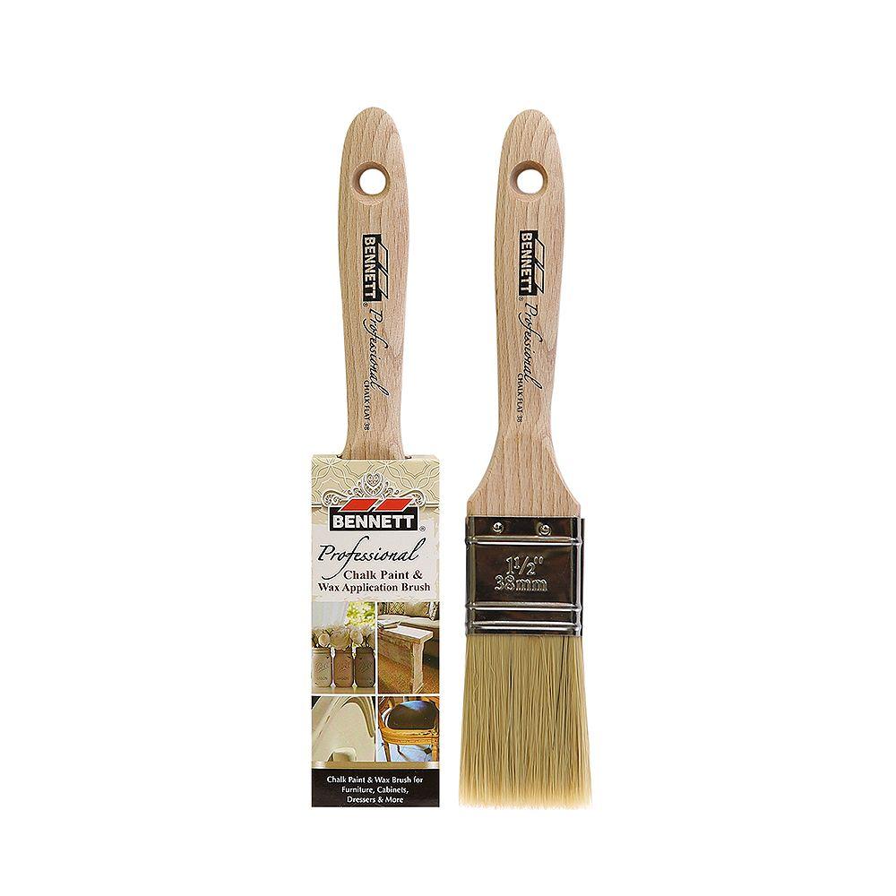 BENNETT Professional Chalk Brush, Flat 38MM