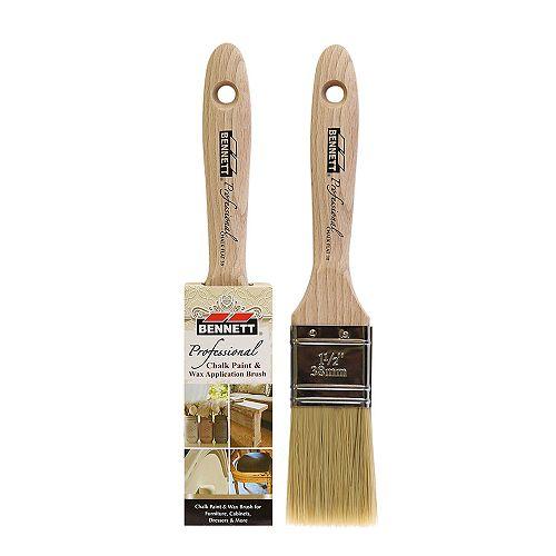 Professional Chalk Brush, Flat 38MM