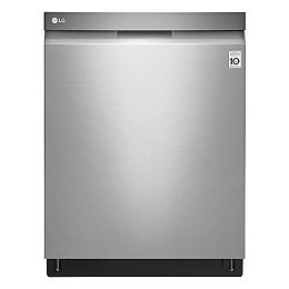 Top Control Dishwasher with 3rd Rack in Stainless Steel with Stainless Steel Tub, 44 dBA