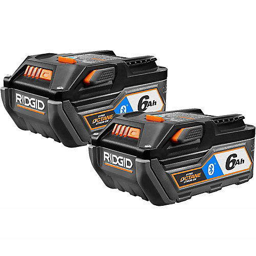 18V OCTANE Bluetooth 6.0 Ah Battery (2-Pack)