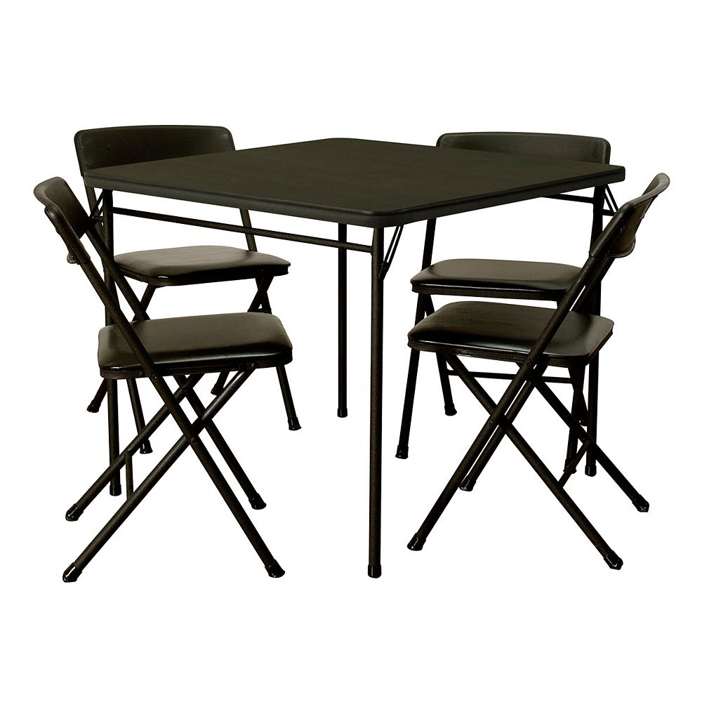 Cosco 5-Piece 34 Inch Table and Chair Set