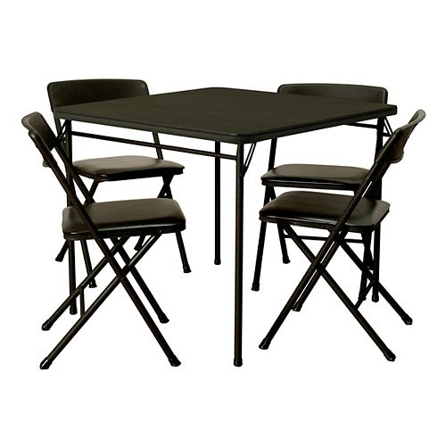 5-Piece 34 Inch Table and Chair Set