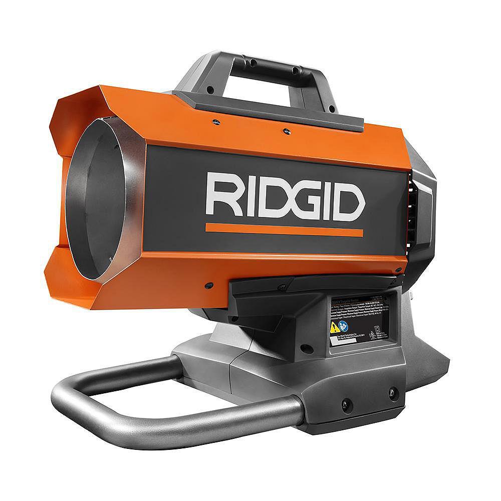 RIDGID 18-Volt 60,000 BTU Hybrid Forced Air Heater (Tool Only)