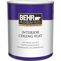 Interior Ceiling Paint - Ultra Pure White, 946mL