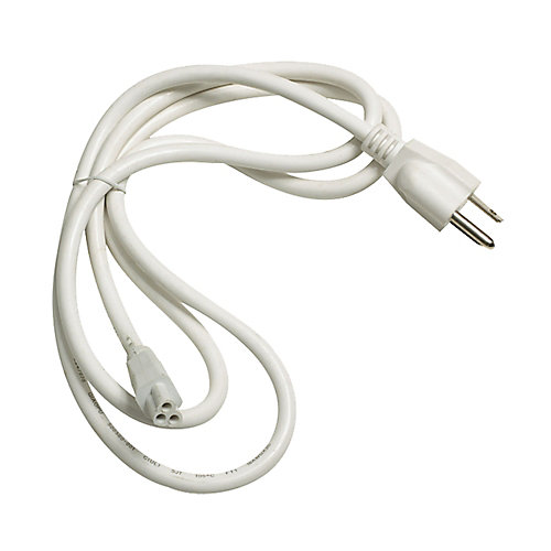 Câble et prise ZeeStick au fini blanc