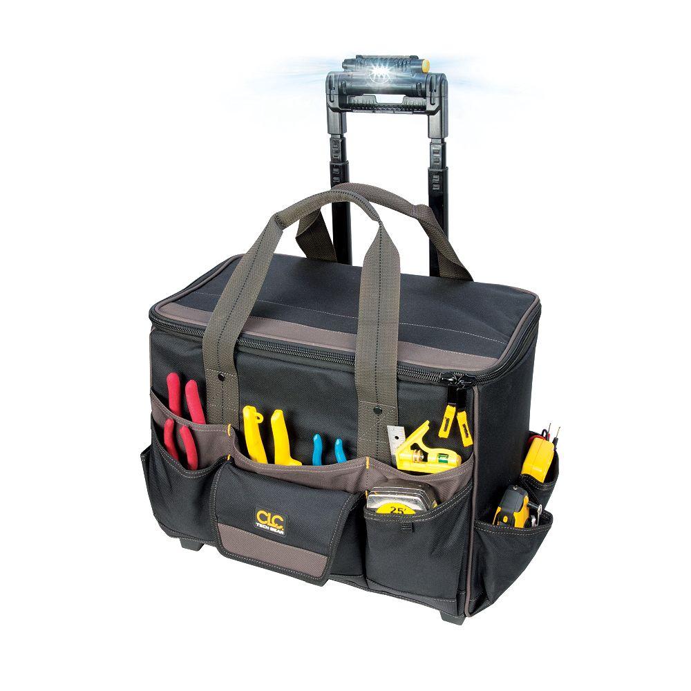 Kuny's Sac à outils sur roulette avec lumière