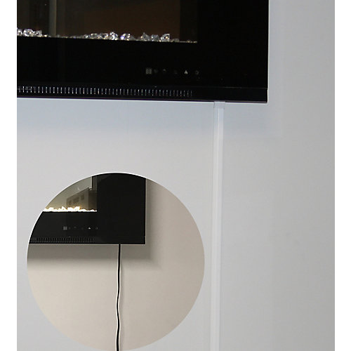 Cord Cover for Premium Wall Mount Fireplaces