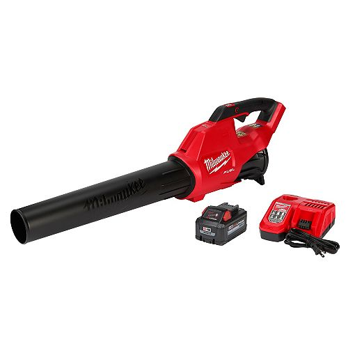 M18 FUEL 18V Lithium-Ion Brushless Cordless Handheld Blower Kit w/ 8.0 Ah Battery