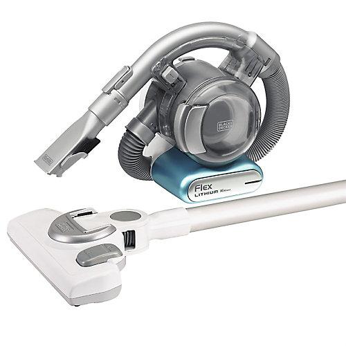 BDH1620FLFH 16-V MAX Lithium Flex Vacuum with Stick Vac Floor Head