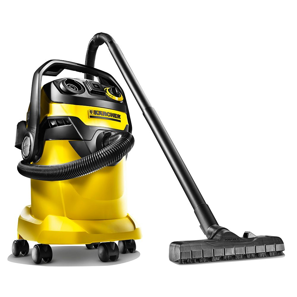 Karcher WD5/P 25 L Capacity Wet/Dry Vacuum with Semi-Automatic Filter Cleaning Technology