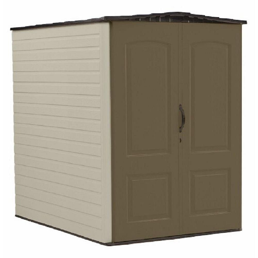 Rubbermaid Big Max 6 ft. 3-inch x 4 ft. 8-inch Resin Storage Shed