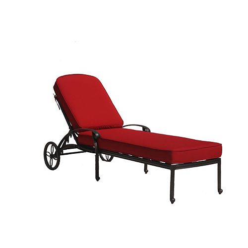 Ophelia Chaise Lounge with Cushion
