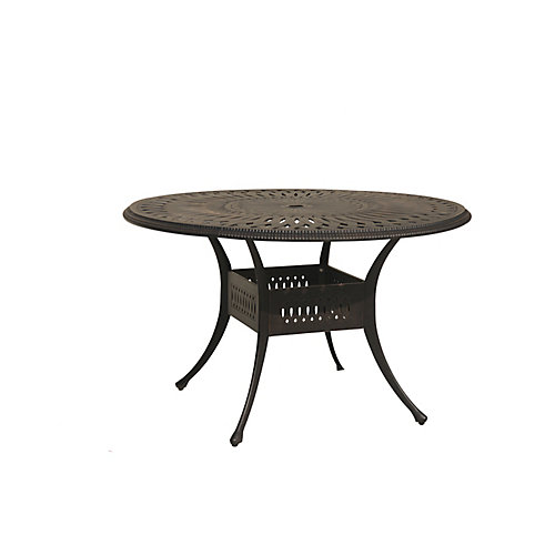 Ophelia 48-inch Round Patio Table