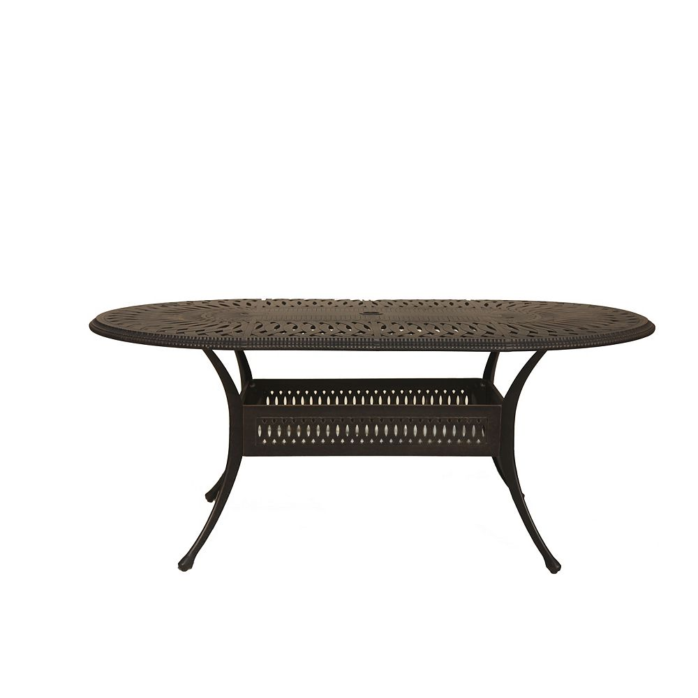 "ONSIGHT Ophelia Table ovale de 87"" par 42"""