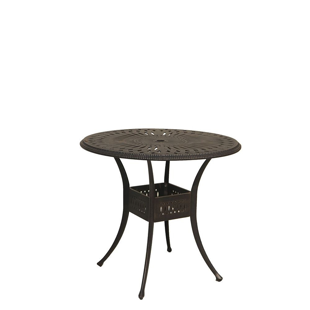 ONSIGHT Ophelia 42-inch Round Bar Height Patio Table