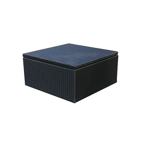 ONSIGHT Santorini Wicker Ottoman