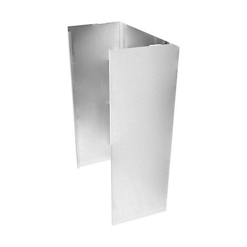 Wall Hood Chimney Extension Kit, 9ft -12 ft