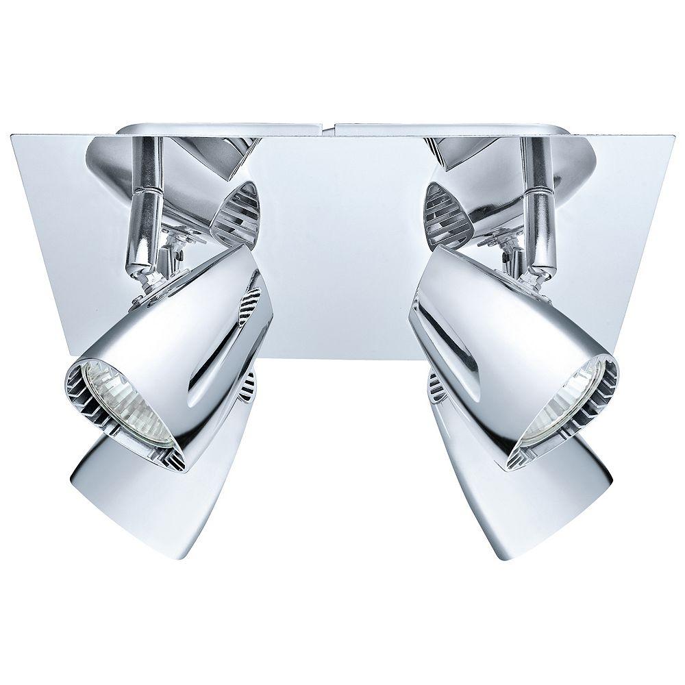 Eglo Corbera Ceiling Light 4L, Chrome Finish