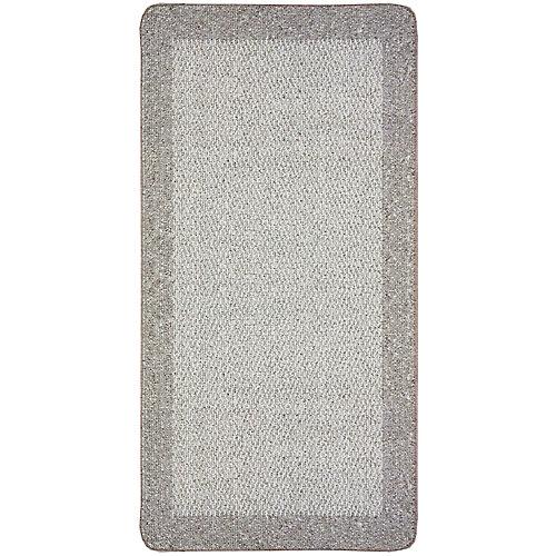 Petit tapis d'appoint rectangulaire Element, 2pi x 4pi, naturel