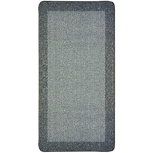 Petit tapis d'appoint rectangulaire Element, 2pi x 4pi, gris