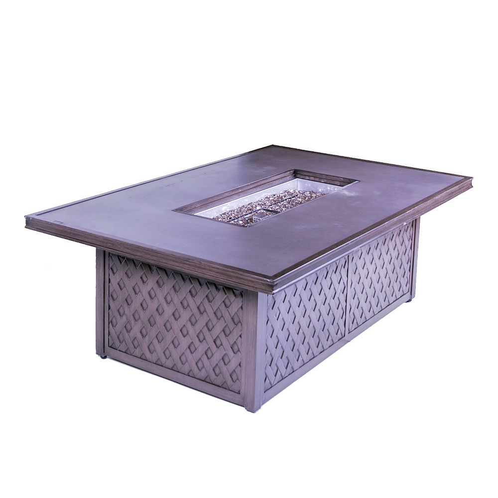 ONSIGHT GRC Table Top Gas Fire Pit Table