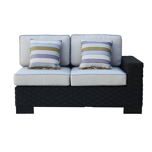 ONSIGHT Hestia Wicker Right Patio Loveseat