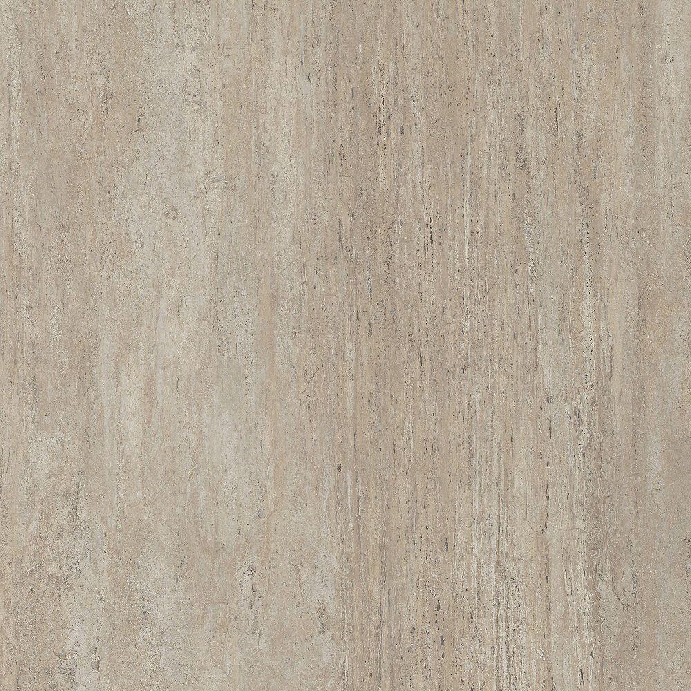 Lifeproof 16 inch x 32 inch New Travertine Luxury Vinyl Tile Flooring (Sample)