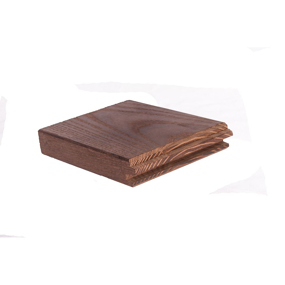 Thermory North American White Ash - Random Length 5/4x5 Solid Hardwood Decking (Price Per Linear Foot)