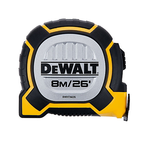 DWHT36226S 26 Feet/ 8M XP Tape Measure