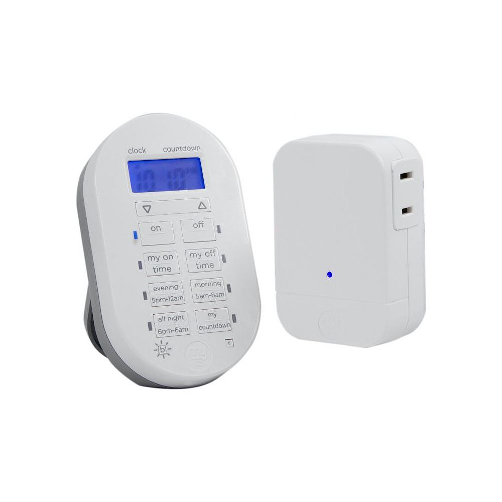 myTouchSmart Simple Set Wireless Timer System, 1-Polarized Outlet, English/French